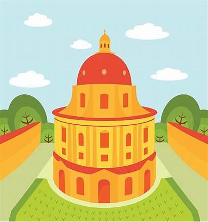 Oxford Vector University Clip Illustrations