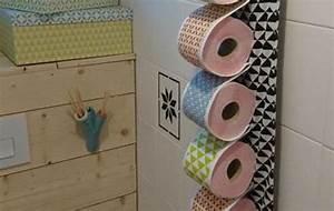 Rangement Papier Toilette Original : d rouleur de papier toilette original pop couture ~ Teatrodelosmanantiales.com Idées de Décoration