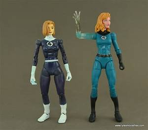 Marvel Legends Invisible Woman figure review - Walgreens ...