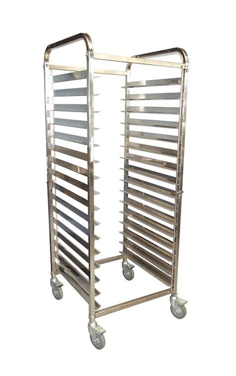 kss tray mobile bakery rack trolley 16x29 concorde food equipment
