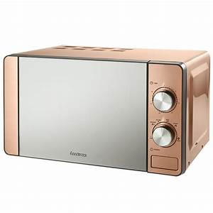 Goodmans Copper Microwave Kitchen Appliances BM