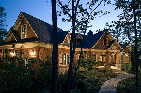 Stunning Rustic Craftsman Home Plan