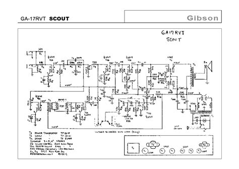 Gibson Rvt Scout Schematic Service Manual Download