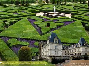 fond d39ecran jardin de villandry With forum plan de maison 12 fond decran paysage feerique