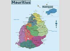 Landkarte InfoMauritius