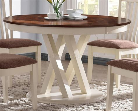 104341 5pc dining set by coaster in two tone w options