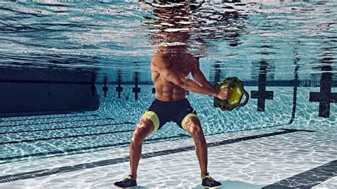 pool exercises workout hiit fitness aqua gym speedo exercise pools dailyburn studio water aerobics muscle strength intense
