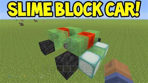 minecraft working car minecraft xbox360 ps3 tu31 update slime block car