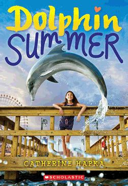 dolphin summer  catherine hapka paperback book