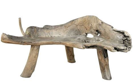 Driftwood Bench  Modern  Indoor Benches  New York By