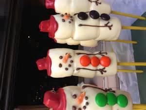 Christmas Chocolate Covered Marshmallows