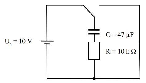 entladevorgang kondensator mit modellbildung
