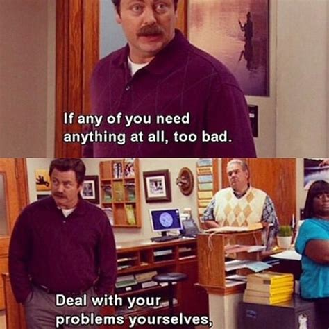 Swanson Meme Swanson Memes Parks And Recreation