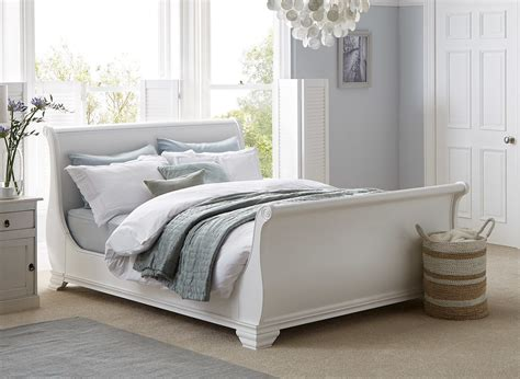 orleans white wooden bed frame dreams