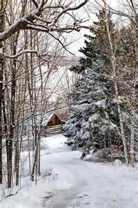 Snowy Barn in the Snow
