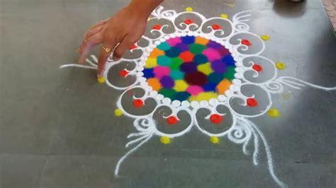 Simple Rangoli Designs For Beginners  Rangoli Kolam Designs