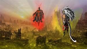 Goku vs Superman by JayC79 on DeviantArt