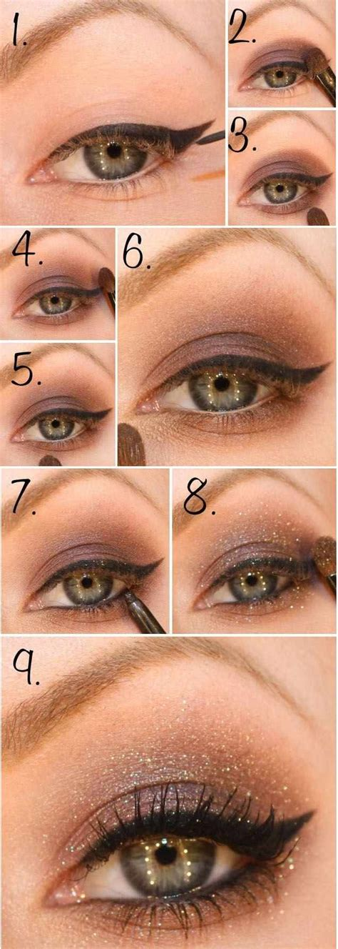 Fard A Paupiere Yeux Marron Tuto Maquillage Yeux 28 Belles Photos Et Id 233 Es 224 Imiter