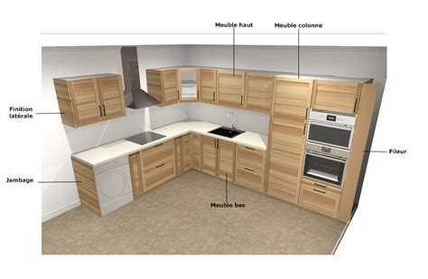 cuisine en ligne 3d installation cuisine ikea