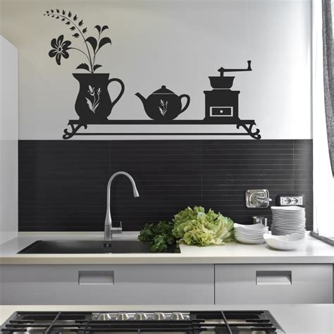sticker mural cuisine stickers cuisine pas cher