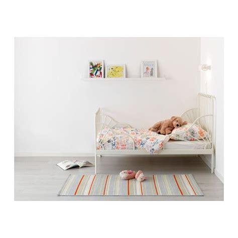 Ikea Minnen Le by Struct Lit Ext Av Sommier 224 Lattes Minnen Blanc Chambre