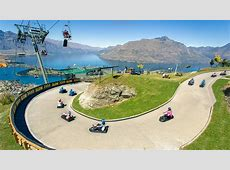 New Zealand Attractions And Activities Guide Map New