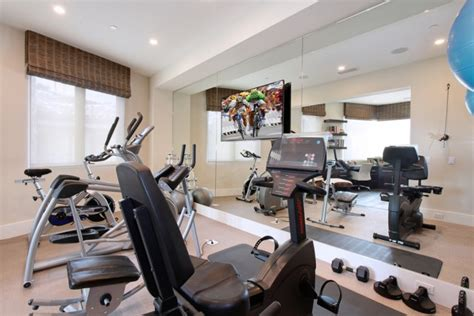 energizing private luxury gym designs   home