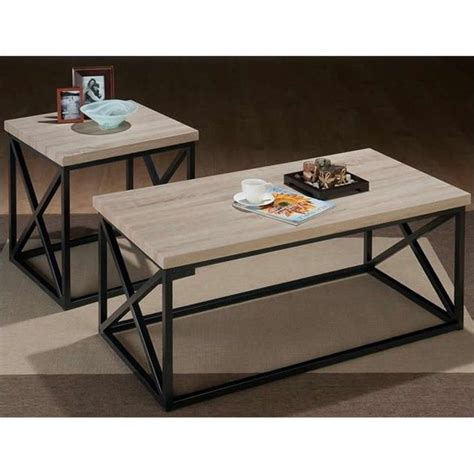 3 coffee table and end tables set f3076 on a jofran 3 pc x side occasional ash coffee table set