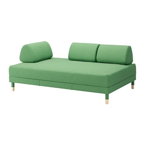 canapé vert ikea flottebo canapé lit lysed vert ikea