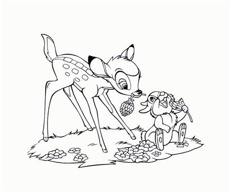 colour drawing  hd wallpapers disney cartoon bambi