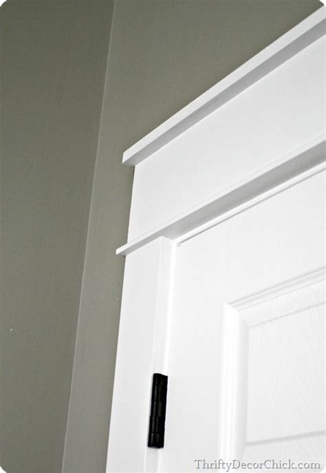 replacing  door trim  thick craftsman trim