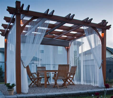 pergola retractable canopy kit pergola kit 10x12 with retractable canopy contemporary patio vancouver by outdoor living