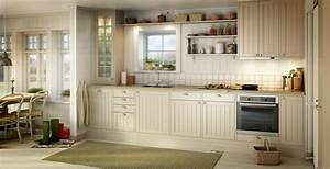 Kitchens by marbodal for Kitchen colors with white cabinets with canvas wall art set