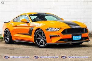 Beautiful 2018 Orange Fury Ford Mustang V8 Manual Coupe, Roush Style Body