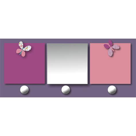 patere chambre bebe patère chambre bébé avec miroir et porte photos prunelle