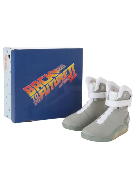 back to the future light up shoes back to the future 2 light up shoes