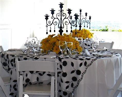 yushan s blog black white and yellow wedding
