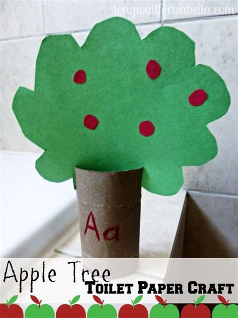 apple tree toilet paper roll craft vowel learning 677   6849090b994c46e088fdc9b3a0237f36