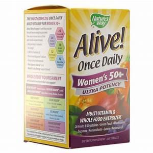 Alive  Women U0026 39 S 50  Ultra Potency Multivitamin