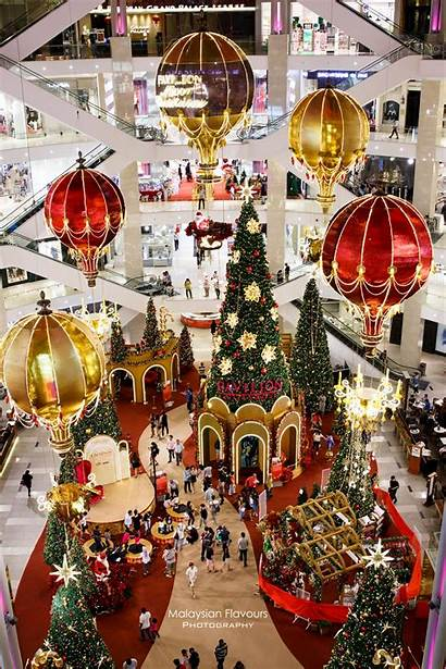 Christmas Decor Pavilion Kl Air Magical Balloon