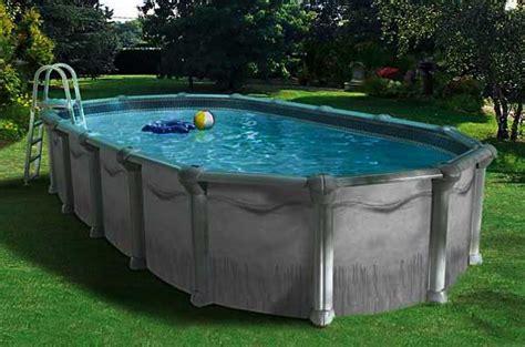 piscine hors sol acier enterree piscine hors sol acier m 233 tal ou bois 187 vacances arts