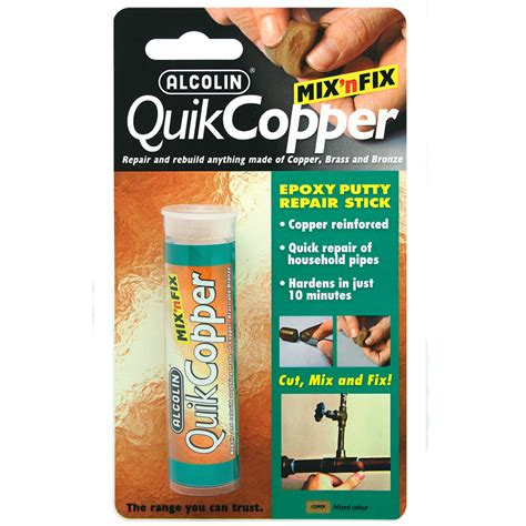 quikcopper epoxy adhesives diy products alcolin