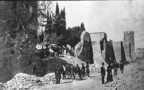 breccia porta pia 20 settembre 1870 la breccia di porta pia li btg