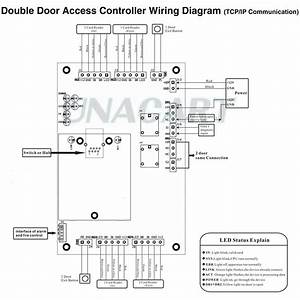 Wiegand Reader Wiring Diagram