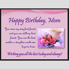 Birthday quotes mom relationship quotes never give up best friend heart touching 107 happy birthday mom quotes from daughter m4hsunfo