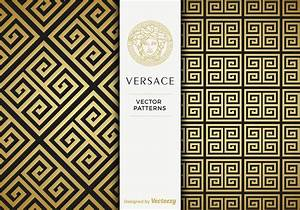 Free, Versace, Golden, Vector, Patterns