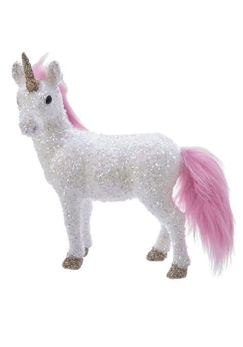 unicorn white tabletop decor