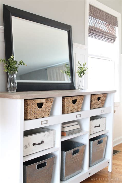 Foyer Storage Ideas by Multi Purpose Entryway Storage Grows