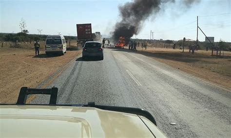 R521 Between Polokwane And Mogwadi Closed Again