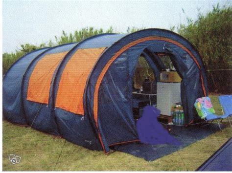toile de tente 3 chambres troc echange toile de tente tunnel 6 places sur